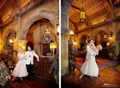 Real Wedding Spotlight: Adam & StephanieEver After Blog | Disney Fairy Tale Weddings and Honeymoon