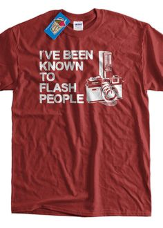 Camera TShirt Photography TShirt I've Been Known by IceCreamTees, $14.99