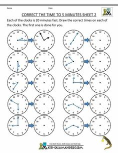 time clock sheet