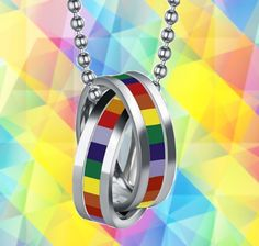 Because we are LGBT supporters, we are running a special promotion. 50% OFF on this item! (from $39.90 to only $19.95) This amazing Limited Edition LGBT Necklace is a MUST HAVE! Designed with premium
