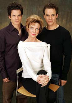Greg Rikaart, Judith Chapman, and Christian LeBlanc - omigosh - look how young they are!