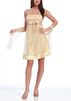 bridesmaid dress color and style, I like, only with sleeves.