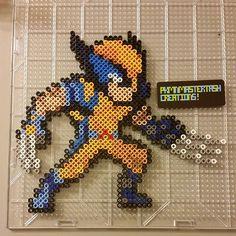 Wolverine X-Men perler beads by  pkmnmastertash