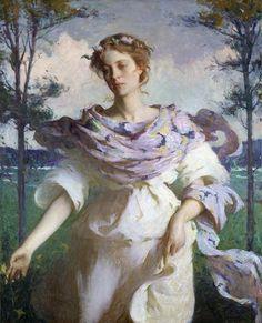 Summer, 1909, by Frank Weston Benson