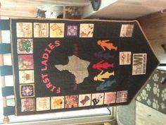 Women's Institute banner. First Ladies