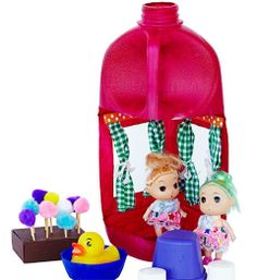 How to make a dolls house (out of a milk bottle) - Better Homes and Gardens - Yahoo!7