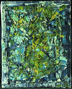 Jean-Paul Riopelle,  1978   oil on canvas