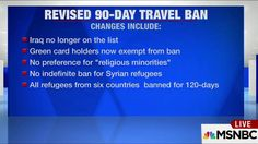A Look at the Revised Travel Order