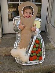 TV Dinner, so cute! Purim Costumes, Homemade Costumes, Cute Halloween Costumes, Halloween Activities, Baby Costumes, Baby Halloween, Cool Costumes, Favorite Holiday, Holiday Fun