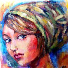 oil on canvas  30X30 cm