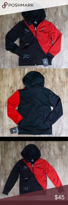 245bc57f3254 Jordan Jumpman Black   Red Full Zip Hoodie Jacket Brand new Jordan Jumpman  Black   Red