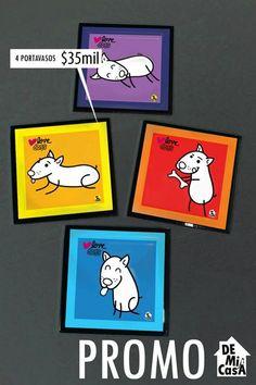portavasos de perritos en promoción (AGOSTO 2013)