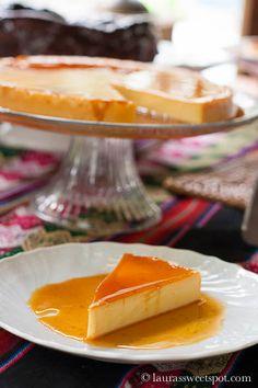 Caramel Cheesecake Flan