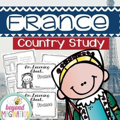 Travel to the land of France with your lower elementary grade/ kindergarten/ special education learners. Includes super fun boarding passes and postcards from France (the kids just LOVE these). This fun fact country study booklet is perfect to use for an around the world unit, an international day, an international festival, a social studies unit, a cultural school project, a geography project, a cultural day, a cultural fair, a field day, or a multicultural day.
