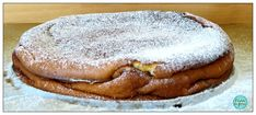 O Cantinho Dos Gulosos: Bolo/Queijada de Iogurte grego Yogurt, Pancakes, Bread, Breakfast, Recipes, Food, Cheesecake, Sweet Recipes, Conch Fritters