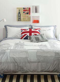 London trip duvet cover set - Duvet Covers & Comforters | Simons