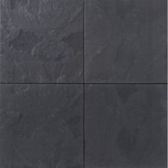 Terras #Tegel 60x60x5 Leisteen #Zwart