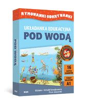 Układanka edukacyjna: POD WODĄ (Rymowanki Odkrywanki)