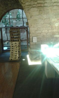 The soap museum, Saida, Lebanon  A historical section of the museum introduces artifacts which were found during onsite excavation and which include remains of clay pipe heads dating from the 17th to 19th century as well as pottery fragments. The Museum building is an old soap factory built in the 17th century, although containing parts thought to date back to the 13th century,