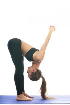 3 yoga poses to increase overhead shoulder mobility   - downward dog at the wall, shoulder stretches, upper body stretches, yoga