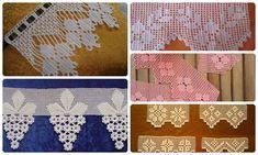 2 SIRA DESENLİ ÇARŞAF PİKE VE KENAR DANTELİ | Nazarca.com Crochet Necklace, Kids Rugs, Home Decor, Crochet Edgings, Tejidos, Flowers, Bangs, Card Stock, Crochet Collar