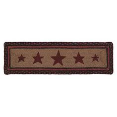 Bingham Jute Stencil Star Rectangle Stair Tread Kitchen Area Rugs, Braided Rugs, Stair Treads, Jute Rug, Stencils, Stairs, Victorian, Baskets, Product Description