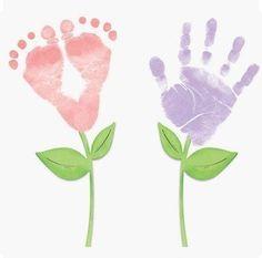 I Heart You Footprint Tutorial Footprints Reuse And