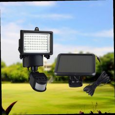 44.99$  Watch now - http://aliqy1.worldwells.pw/go.php?t=32642242968 - Solar Security Floodlight with PIR Motion Sensor and Lithium Battery for Garden Backyard Roof Gazebo Fountain Garage Square