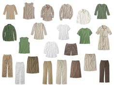 Transition: Whatever's Clean shifts from Summer to Autumn, in Beige and Green | The Vivienne Files