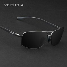 e6daac6d270e6a 2017 VEITHDIA Brand New Polarized Men s Sunglasses Aluminum Sun Glasses  Eyewear Accessories For Men oculos de