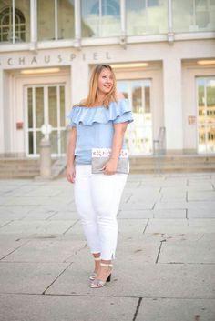 Off Shoulder Look Plus Size Fashion Plus Size Blog, Look Plus Size, Plus Size Women, Curvy Outfits, Mode Outfits, Fashion Outfits, Curvy Girl Fashion, Look Fashion, Plus Fashion