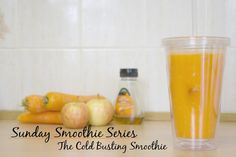 Sunday Smoothie Series | The Cold Busting Smoothie