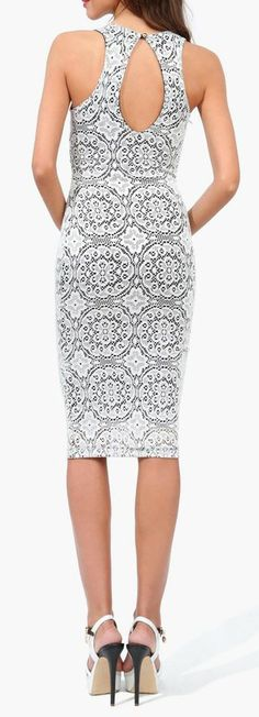 Angie Cut Out Dress