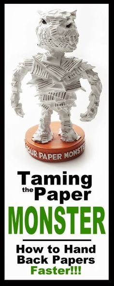 Taming the Paper Monster - How to Hand Back Papers Faster by Created for Learning