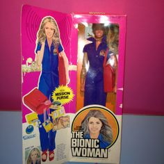 I found my Bionic Woman doll from the 70's .... Still in the box :-)