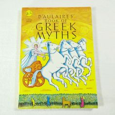 D'Aulaires' Book of Greek Myths Softcover Sonlight Homeschool Illustrated #greekmythology #d'aulaire #homeschool #sonlight