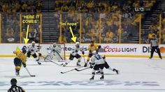 Brent Burns wanted nothing to do with blocking Shea Weber's rocket goal