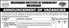 Government  Jobs in Wazirabad Institute of Cardiology  ‪#‎Job‬ ‪#‎Government‬ ‪#Jinnah_Hospital