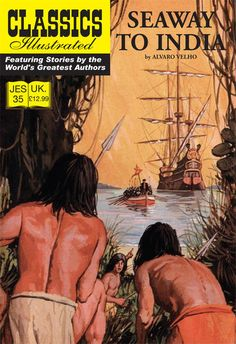 Cover for Classics Illustrated (JES) (Classic Comic Store, 2008 series) #35 - Seaway to India