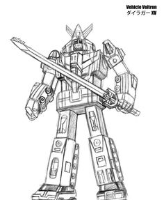 Voltron Force Coloring Pages Are Now Up For You To Print And Color ...