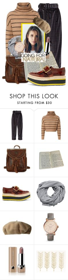 """""""Going for Natural"""" by eversmile ❤ liked on Polyvore featuring Isa Arfen, Brunello Cucinelli, Patricia Nash, Prada, MANGO, Lauren Ralph Lauren, FOSSIL, Marc Jacobs, Fall and outfit"""