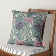 Pretty floral cushion