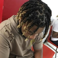 Gray Hair No More - How to Stop And Reverse Gray Hair Naturally Men Dread Styles, Mens Dreadlock Styles, Dreads Styles, Hair Twist Styles, Hair And Beard Styles, Natural Hair Styles, Long Hair Styles, Braid Styles, Dreadlock Hairstyles For Men