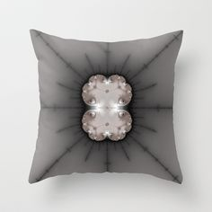 fractal_0013 Throw Pillow by fracts - fractal art - $20.00