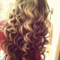 Wand curls, I did this to my hair for my school play, perfectly lovely