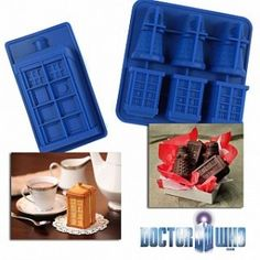 Doctor Who Tardis and Dalek Molds from $4.96 Shipped!
