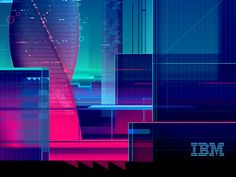 IBM Magazine cover by RomainTrystram #Design Popular #Dribbble #shots