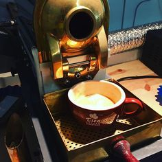 """Redefining the meaning of """"From seed to cup"""" #ticoroasters #uniqueexperience #local #coffee #roaster"""