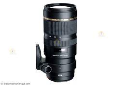 TAMRON SP AF 70-200 mm f/2.8 Di VC USD monture NIKON objectif photo
