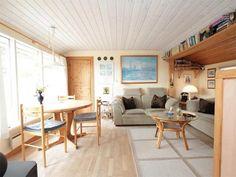 Ferienhaus mit schöner geschlossener Terrasse, das nur 25 M. vom Strand entfernt liegt. Perfekt für ein Pärchenurlaub an der Nordsee.